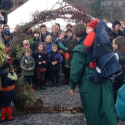 Opening of A'Chraobh wood by Lesley Riddoch